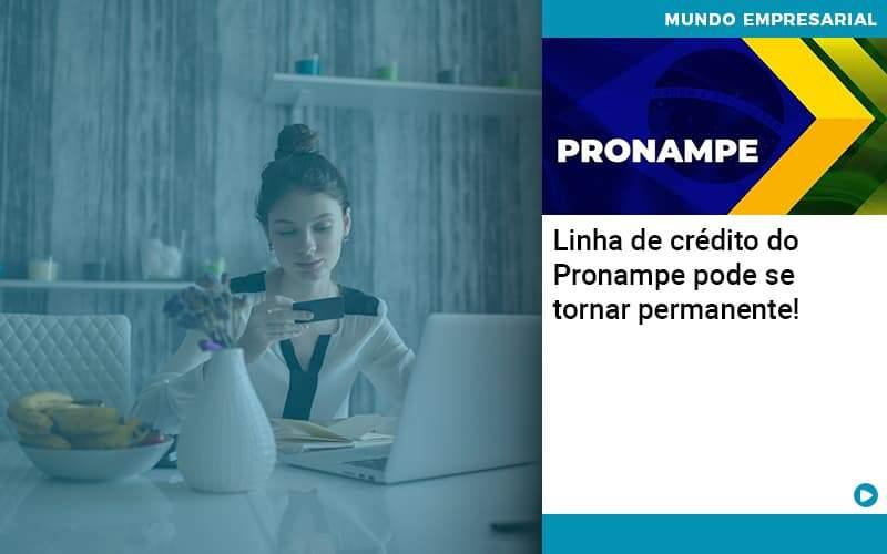 Linha De Credito Do Pronampe Pode Se Tornar Permanente Organização Contábil Lawini - Contabilidade em Joinville - SC | Dominium Contabilidade