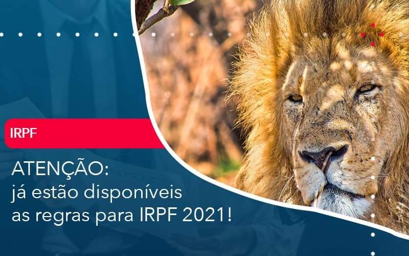 Ja Estao Disponiveis As Regras Para Irpf 2021 Organização Contábil Lawini - Contabilidade em Joinville - SC | Dominium Contabilidade